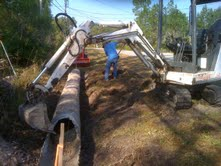 Culvert Work - Middleburg, Fl.