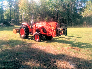 Tractor Work Keystone Heights - Middleburg - Palatka - Starke - Interlachen - Odom Ranch Land - Orange Park - Green Cove Springs - Jacksonville - Melrose, Florida