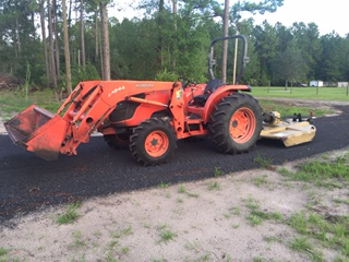 Bush Hog Mowing in Keystone Heights - Odom Ranch - St. Augustine Florida - Starke Florida - Palatka Florida