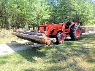 Land Clearing & Tractor Work - John DeGolyer  904-298-7797 Keystone Heights Florida - Odom Ranch