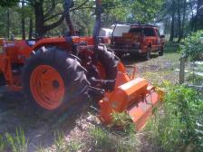 Tilling for Feed Plot & Garden Preparation Keystone Heights Area