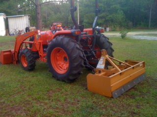 Tractor Work Keystone Heights - Middleburg - Palatka - Starke - Interlachen - Orange Park - Northeast Florida - Jacksonville - Melrose, Florida
