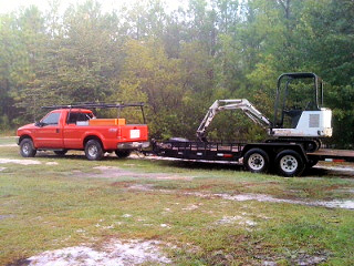 Tractor and Miniexcavator - Degolyer Enterprises - Keystone Heights, Florida
